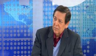 """Constitucionalista Bernales: """"El transfuguismo atenta contra el voto popular"""""""