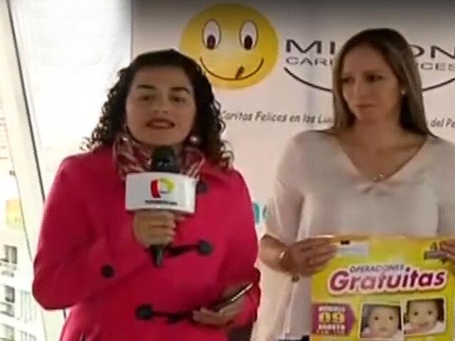 Caritas Felices: niños con labio leporino pueden operarse de forma gratuita