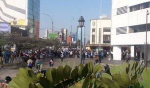 Congresistas se pronuncian sobre disturbios por protestas de maestros huelguistas