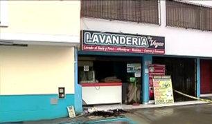 La Molina: balón de gas estalla y destruye mercado