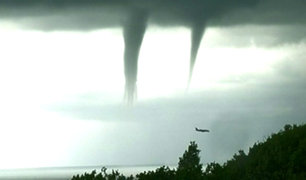 Numerosos tornados causan alarma en Rusia