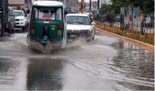 Registraron dos accidentes de tránsito debido a las intensas lluvias en la capital