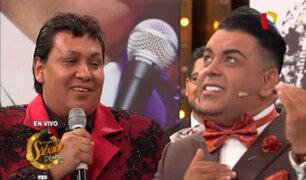 Juan Gabriel Peruano deleitó con su voz en Porque Hoy es Sábado con Andrés