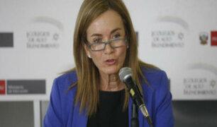 Marilú Martens se manifiesta sobre suspensión de huelga de maestros