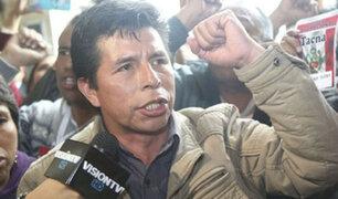 Pedro Castillo anunció nuevo paro de maestros a nivel nacional