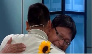 Emotivo reencuentro: Jorge Luis se reúne con su padre después de 32 años