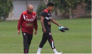 Perú vs. Ecuador: Ruidíaz terminó lesionado tras entrenamientos