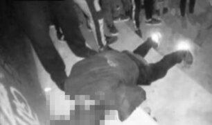 Manchay: cantante de rap es asesinado en evento musical