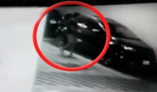 Denuncian robo de autopartes en estacionamiento de exclusivo condominio en San Miguel
