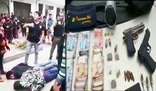 En pleno horario de clases delincuentes asaltan colegio particular en Santa Anita