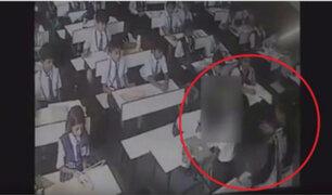 India: profesora propinó 40 cachetadas a su alumno