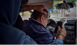 Incrementa el número de asalto a taxis por aplicativo en calles limeñas