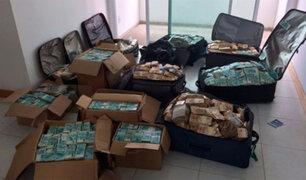Encuentran maletas y cajas llenas de dinero en casa de exministro brasileño