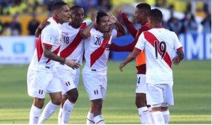 ¡Triunfo histórico! Perú venció  de visita a Ecuador y está a un paso del Mundial de Rusia 2018