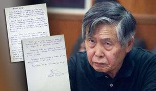 A través de Twitter Alberto Fujimori agradeció la preocupación por su salud