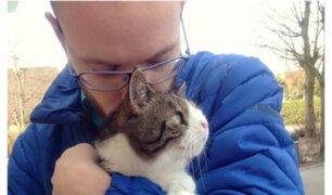 Conoce a Monty, el gato protagonista de esta hermosa historia de amor