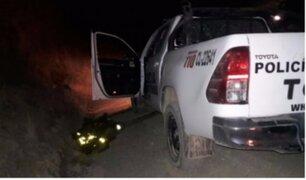 Huancavelica: emboscada terrorista dejó tres policías muertos