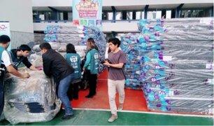 Panamericana Televisión y ADRA brindaron ayuda a venezolanos en el Perú