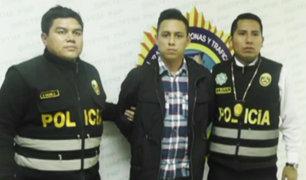 Los Olivos: PNP captura a sujeto que captó a menor para explotarla sexualmente