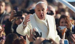 Papa Francisco cumple su segundo día de visita en Colombia