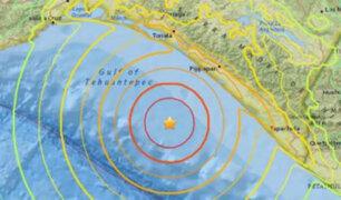 Un terremoto de 8.4 grados de magnitud azotó el sur de México
