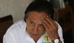 Fiscalía reformulará pedido de extradición contra Alejandro Toledo