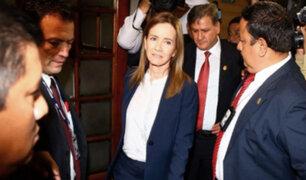 Congreso de la República: Marilú Martens responde a pliego interpelatorio