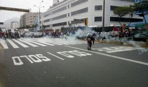 Ministra Martens: maestros protestan nuevamente en la avenida Abancay