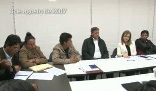 Ministra Martens mostró video de su reunión con el dirigente Pedro Castillo