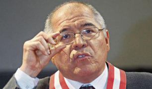 Juez César San Martín definirá recurso casatorio sobre casos de lavado de activos