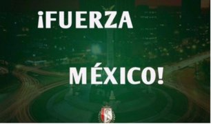 Mundo del fútbol se solidariza por terremoto en México