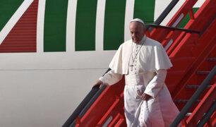 Francisco en Perú: ¡Sigue aquí en tiempo real el vuelo que trae al Sumo Pontífice!