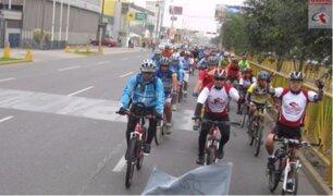 En carne propia: el calvario de los ciclistas en Lima