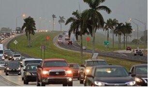 Florida: ordenan evacuar a más de 6 millones de personas por Huracán Irma