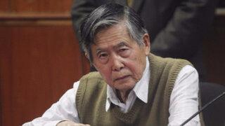 Alberto Fujimori salió de cuidados intensivos y retornó a la Diroes