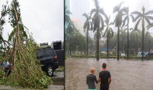 Huracán Irma: tormenta tropical llegó a la bahía de Tampa en Florida