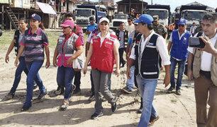 Iquitos: Midis entrega ayuda a damnificados por incendio en Belén