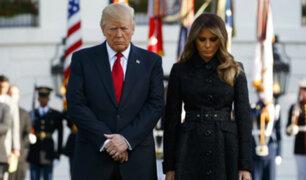 11 de septiembre: Trump participó en ceremonia de recuerdo por el atentado