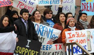 EEUU: 'Dreamers' se manifiestan en defensa del DACA