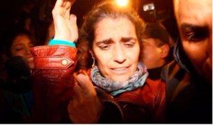 Maritza Garrido Lecca: así fue su salida del penal Ancón II tras 25 años de prisión
