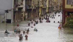 Huracán Irma deja 10 muertos e inundaciones en Cuba