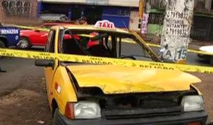 Accidente de tránsito deja un muerto en San Juan de Lurigancho