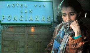 Áncash: Maritza Garrido Lecca pasó la noche en un hotel de Casma