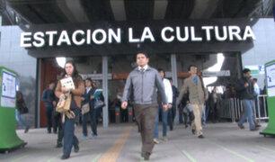 Metro de Lima: cierran temporalmente estación La Cultura por evento del Comité Olímpico