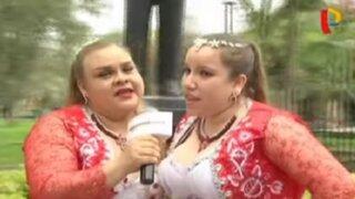 Gordo 'Casaretto': su esposa e hija se lanzan como cantantes folclóricas