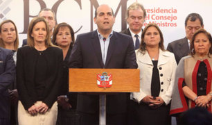 Parlamento cita para esta tarde a premier Zavala tras pedido de confianza