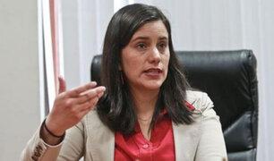 Verónika Mendoza: Urge que se hagan cambios en el Gabinete