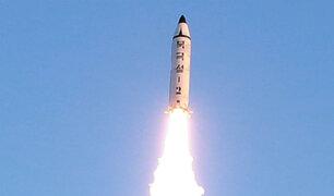 Corea del Norte disparó un misil que ingresó a espacio aéreo japonés