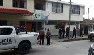 Moyobamba: delincuentes asaltan centro parroquial y se llevan 1,200 soles