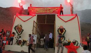 Medida del PJ permitirá demoler mausoleo terrorista en Comas